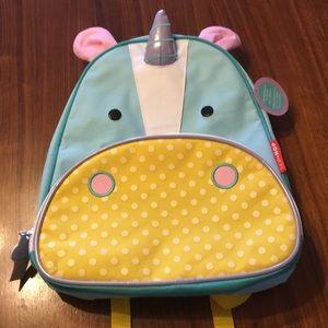 NWT skip hop unicorn mini backpack